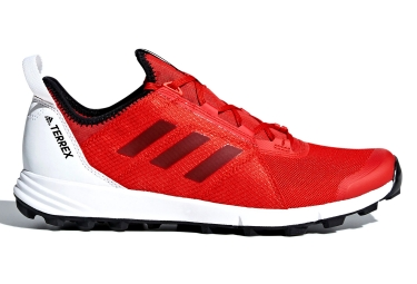Adidas running terrex agravic speed rouge blanc 46