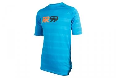 maillot manches courtes royal impact bleu s