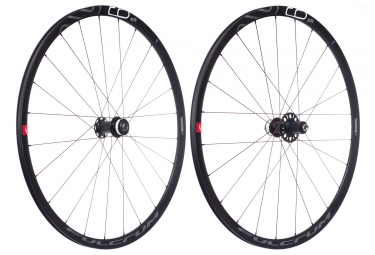 Paire de roues fulcrum racing 6 disc 12 15x100 12x142mm corps shimano sram 2018