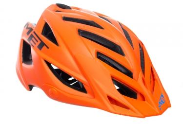 Casque Met Terra Noir Orange