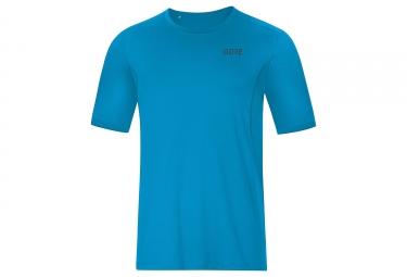 Maillot manches courtes gore wear r3 bleu l