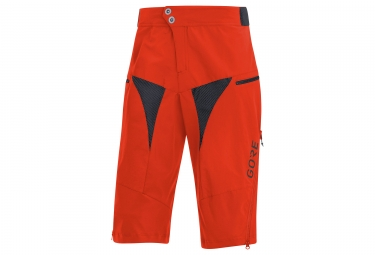Short vtt gore wear c5 mountain orange xl
