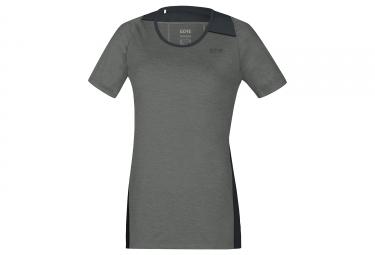 Maillot manches courtes femme gore wear r3 gris 36