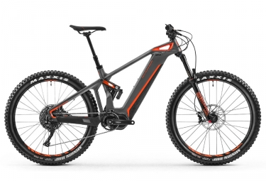 vtt tout suspendu mondraker e crusher carbon r 27 5 gris orange 2018 m 167 178 cm