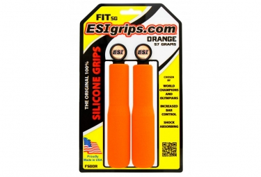 Paire de grips esi fit sg orange