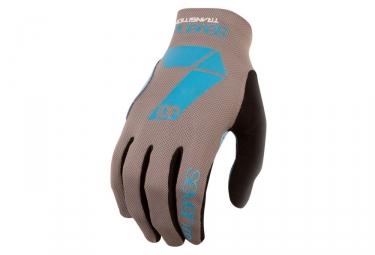 gants seven transition gris bleu s