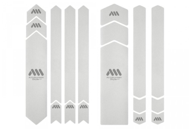 All Mountain Style Honeycomb XXL 18 pcs Frame Guard Kit - Clear