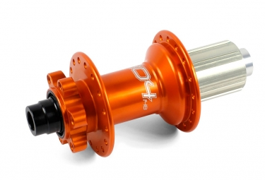moyeu arriere hope pro 4 boost 12x148 mm 32 trous shimano sram orange