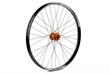Roue avant hope tech 35w pro 4 27 5 9 15x100mm orange