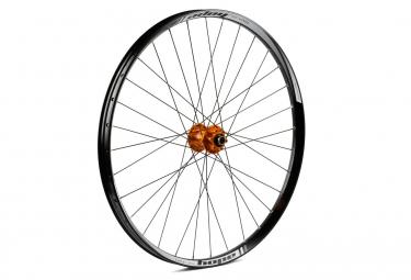 Hope Tech 35W Pro 4 Front Wheel 27.5'' 32H Boost 15x110 mm Axle - Orange