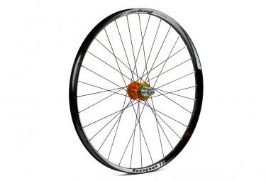 Roue arriere hope tech 35w pro 4 27 5 9x135 12x142mm corps xd orange