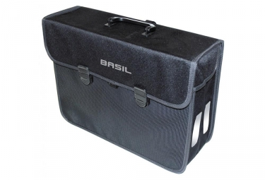 Basil Malaga Single Bike Bag Schwarz