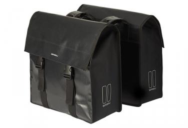 Sacoche Double de Porte-Bagage Basil Urban Load Noir