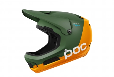 poc coron air spin septane green zink orange m l 55 58