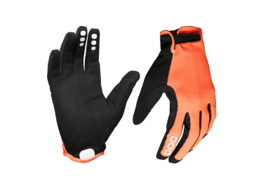 gants poc resistance enduro adj zink orange l
