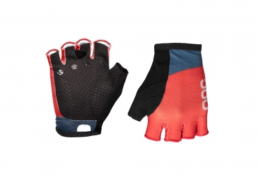 Gants courts poc essential road mesh prismane rouge l