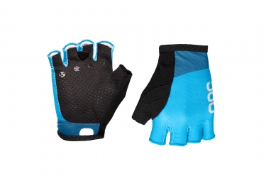 Gants Courts POC Essential Road Mesh Furfural Bleu