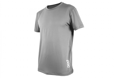 Maillot manches courtes poc resistance enduro light oxolane gris xl