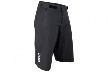 Short femme poc resistance enduro light carbon noir xs