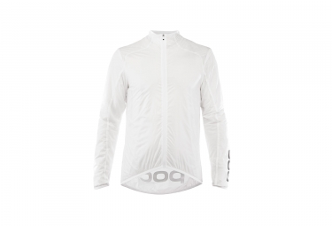 Veste coupe vent poc essential road wind hydrogen blanc xl