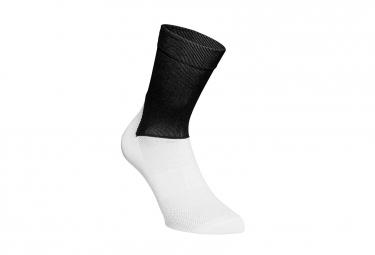 POC Essential Road Socks Black White