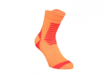 Paire de chaussettes poc essential mtb strong sock orange 40 42