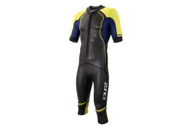 Zone3 SwimRun Versa Wetsuit Black Yellow