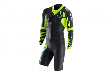 Traje de baño ORCA Swim Run RS1 Negro Amarillo