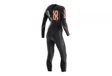 Combinaison Néoprène Femme ORCA S6 Noir Orange
