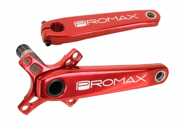 Promax Pedalier HF-2 175mm Rouge