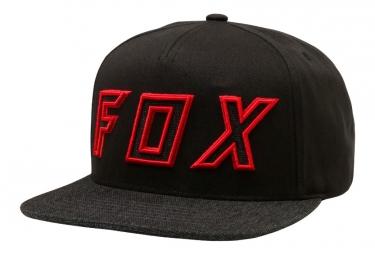 Casquette fox posessed noir