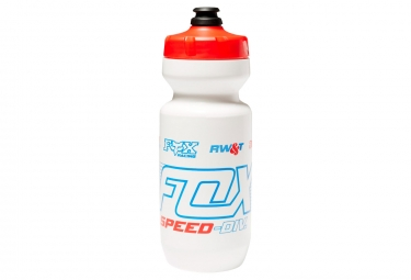 Image of Bidon fox speed div purist 650 ml blanc rouge bleu