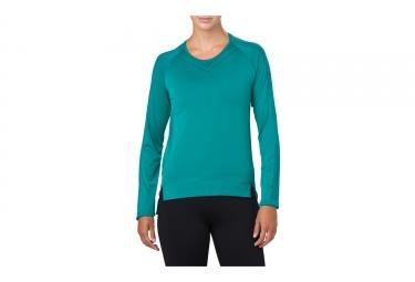 Asics Seamless Women's Long Sleeves Jersey Blue
