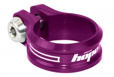 Hope Seat Clamp and Bolt - Purple