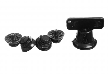 kit de crampons de rechange neatt pour chaussures vtt noir