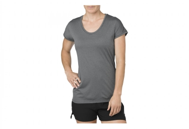 Asics Capsleeve Women's Short Sleeves Jersey Grey