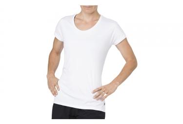 Asics Capsleeve Women's Short Sleeves Jersey White