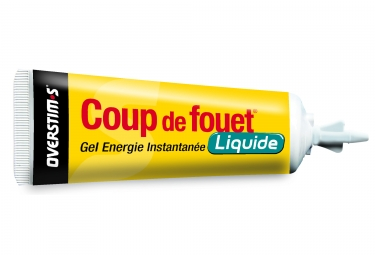 OVERSTIMS Energy Gel LIQUID COUP DE FOUET Green Apple