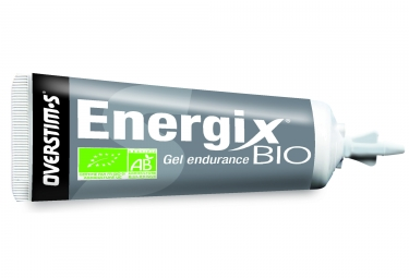 Gel energetique overstims energix bio citron