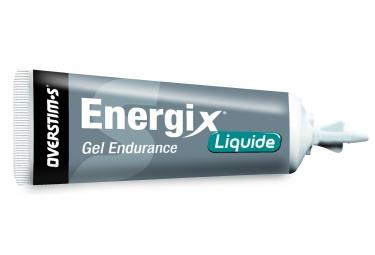 Gel energetique overstims energix liquide citron