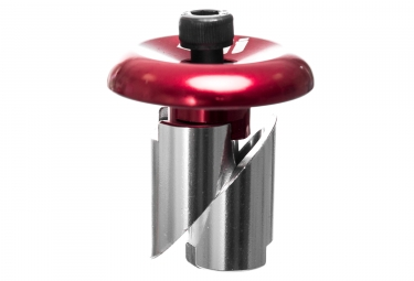 ODI Alu End Plugs Red