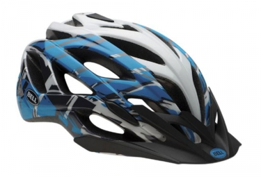 casque bell sequence bleu blanc m 55 59 cm