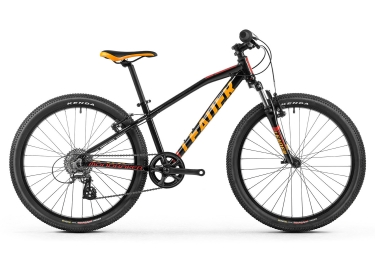 Velo enfant mondraker 2017 leader 24 shimano 8v noir orange