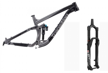 Kit cadre tout suspendu transition scout alu 27 5 fox racing shox dpx2 fourche rocxshox pike rct3 noir powder 2018 m 165 180 cm
