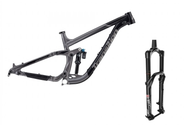 Transition Sentinel Alu 29 '' MTB Frame Kit | Horquilla Fox Racing Shox DPX2 / Lyrik RCT3 | Black Gray 2018