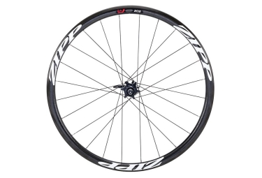 Roue arriere zipp 202 firecrest v2 pneu disc 9 12x135 142mm corps campagnolo stickers blanc