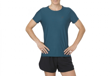 Asics Short Sleeves Top Blue