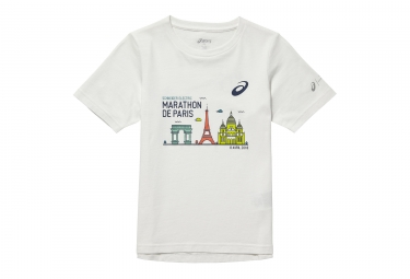 ASICS Marathon de Paris 2018 T-Shirt Child White