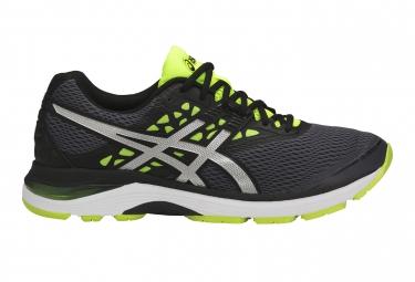 Chaussures running asics gel pulse 9 gris noir 44