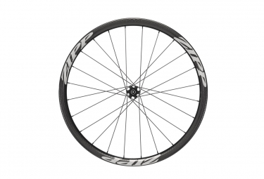 Roue avant zipp 202 firecrest tubeless disc 9 12 15x100mm stickers blanc
